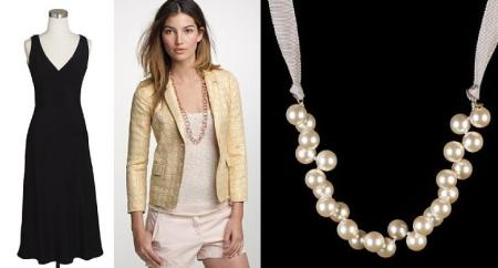Chanel-inspired items from J. Crew