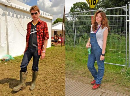 Style.com The Wellie Brigade - The Best Looks from Glastonbury