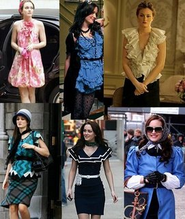 Girly Chic- Blair Waldorf (Leighton Meester)