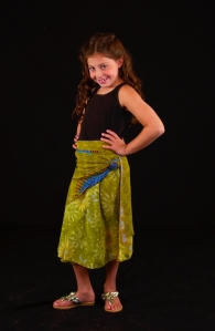 Iris Impressions - Girl Wrap Skirt, $49.99