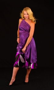 Iris Impressions - Long Wrap Skirt, $119.99